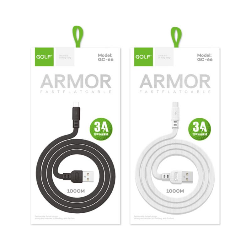 Cablu Golf Armor Iphone 66I Alb