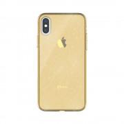 Husa Hana Clear Apple Iphone X/XS Auriu