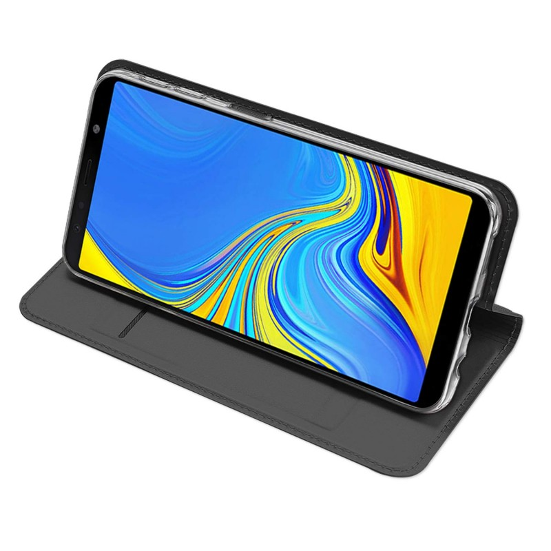Toc DuxDucis Skin Samsung J4 Plus/2018 Negru