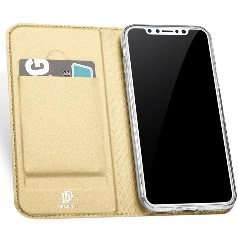 quality design 669e2 3cbf5 Flip Case DuxDucis Skin Apple Iphone X/XS Gold