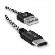 Cablu DuxDucis K-Three TipC Alb/Negru