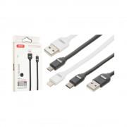 Cablu XO NB150 MicroUSB-USB Alb (2A)