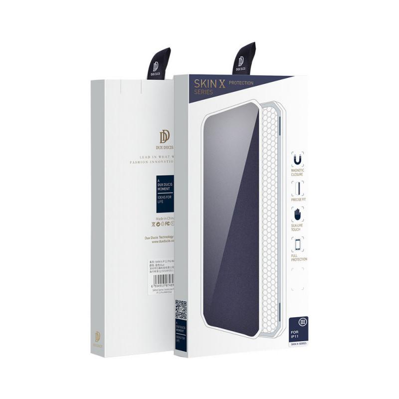 Toc DuxDucis X-Skin Apple Iphone 11 ProMax Rosu