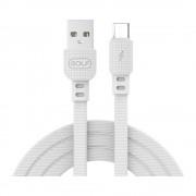 Cablu Golf Armor Micro USB 66M Alb