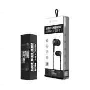 HandsFree Stereo Devia Wired Negru (SET DE 8 BUC)