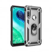 Husa Atlas Jar Apple Iphone 12/12 Pro Argintiu