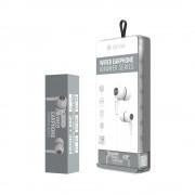 HandsFree Stereo Devia Wired Alb (SET DE 8 BUC)