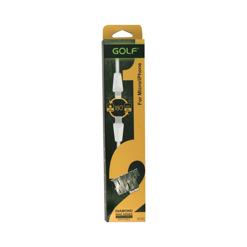Cablu Golf Diamond 2in1 27S Alb