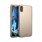 Husa Ipaky 360 Apple Iphone X/XS Auriu