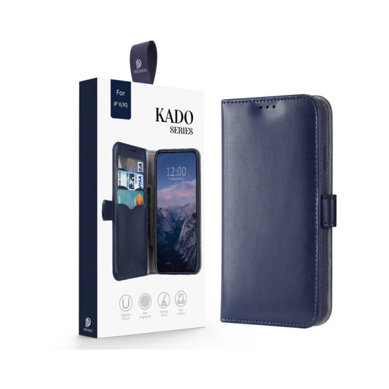 Toc DuxDucis Kado Apple Iphone X/XS Albastru