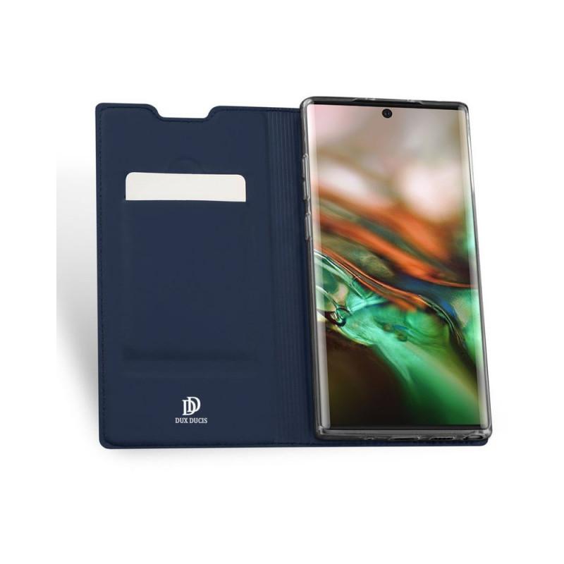 Toc DuxDucis Skin Samsung Note10 Plus Albastru