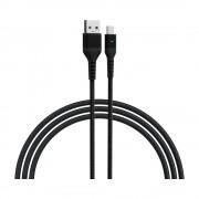 Cablu Devia Gracious2 MicroUSB-USB Negru
