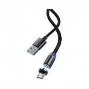 Cablu Devia Gracious1 MicroUSB Negru