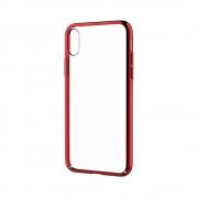 Husa Devia Glitter Apple Iphone X/XS Rosu