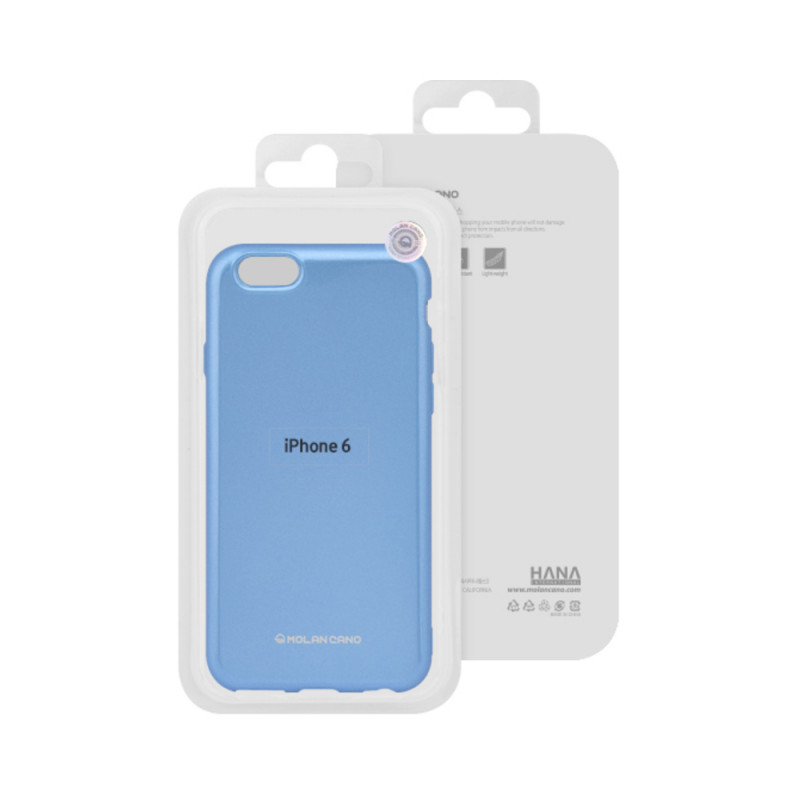 Husa Hana Pearl Huawei Y6/2019 Albastru
