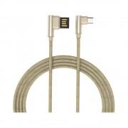 Cablu Golf Pudding MicroUSB 48M Auriu