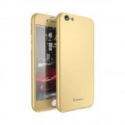 Husa Ipaky 360 Apple Iphone 6/6S Auriu