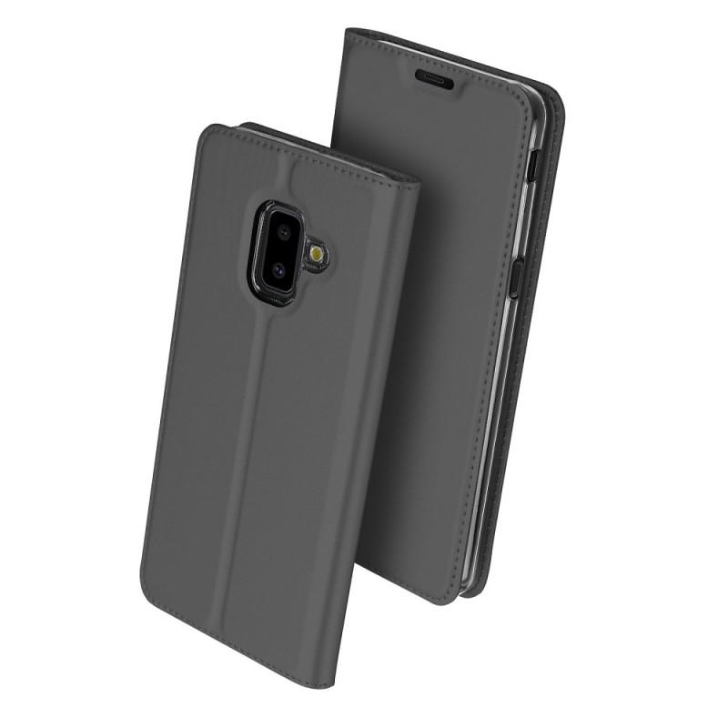 Toc DuxDucis Skin Samsung J6 Plus/2018 Negru