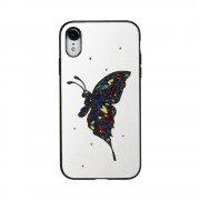 Husa Design Fancy Apple Iphone XS Max Alb