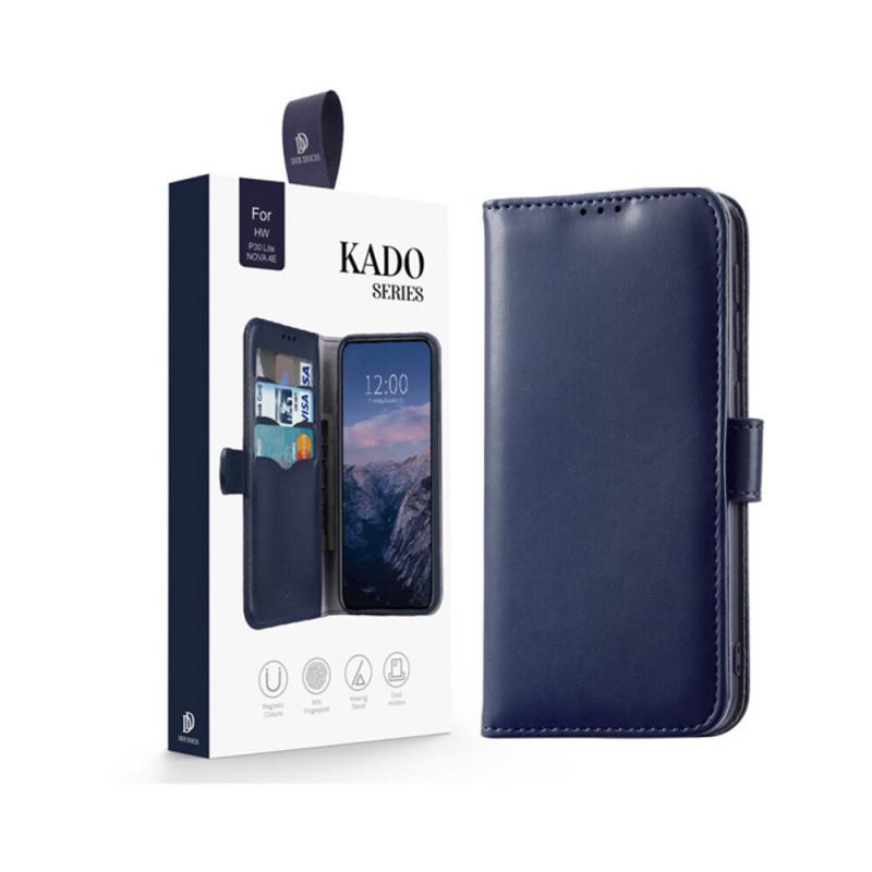Toc DuxDucis Kado Huawei P30 Lite Albastru