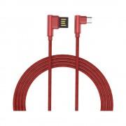 Cablu Golf Pudding MicroUSB 48M Rosu