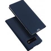 Toc DuxDucis Skin Samsung S10 Albastru