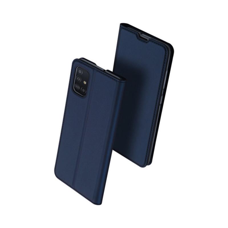 Toc DuxDucis Skin Samsung A52 Albastru