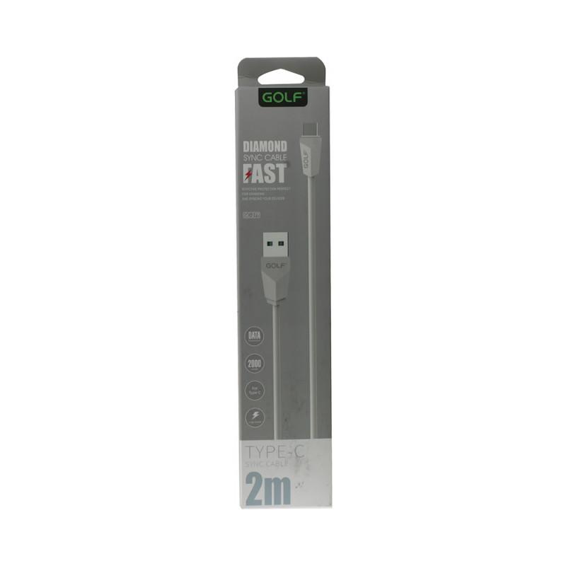 Cablu Golf LongDiamond Iphone 27I Alb - 2 metri