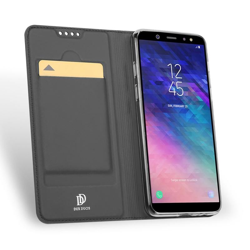 Toc DuxDucis Skin Samsung A6/2018 Negru