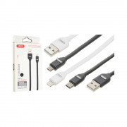 Cablu XO NB150 Iphone-USB Negru (2A)