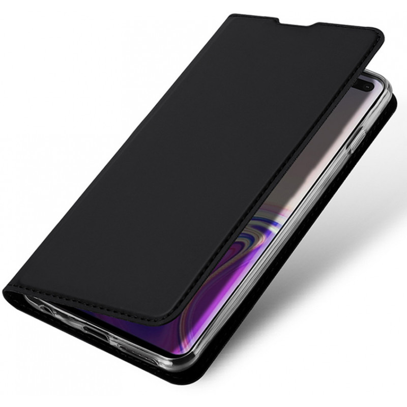 Toc DuxDucis Skin Samsung S10 Plus Negru