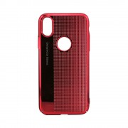 Husa Baseus Bright Apple Iphone X Rosu