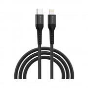 Cablu Devia Cai1 TipC-Iphone Negru