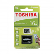 Card Toshiba MicroSD C10 16GB