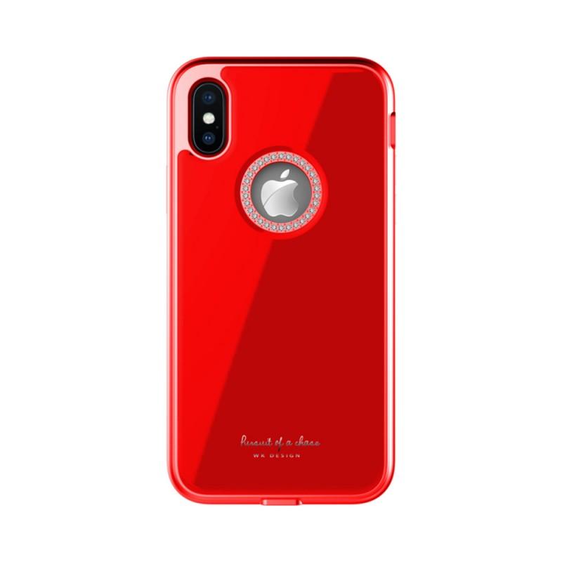 Back Case Design Ginstone Apple Iphone XR Red