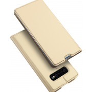Toc DuxDucis Skin Samsung S10 Plus Auriu