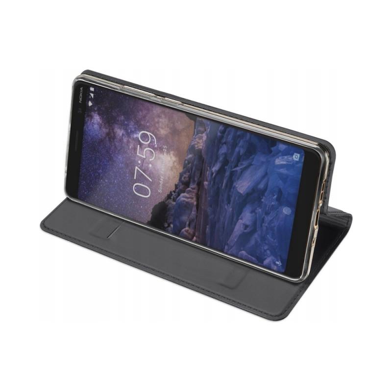 Toc DuxDucis Skin Nokia 3.1 Plus Negru