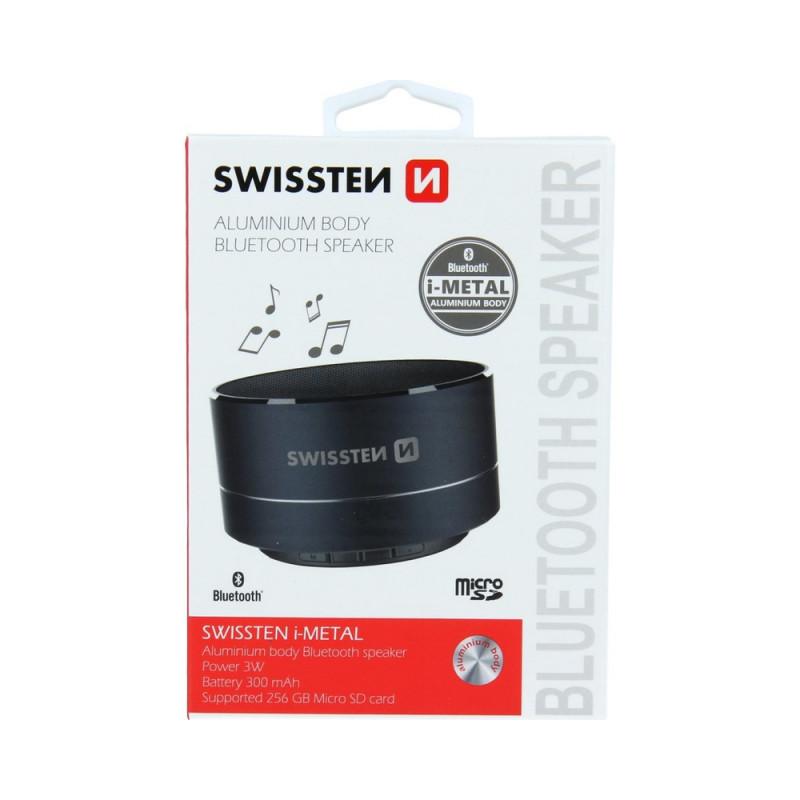 Boxa Bluetooth Swissten i-Metal Negru