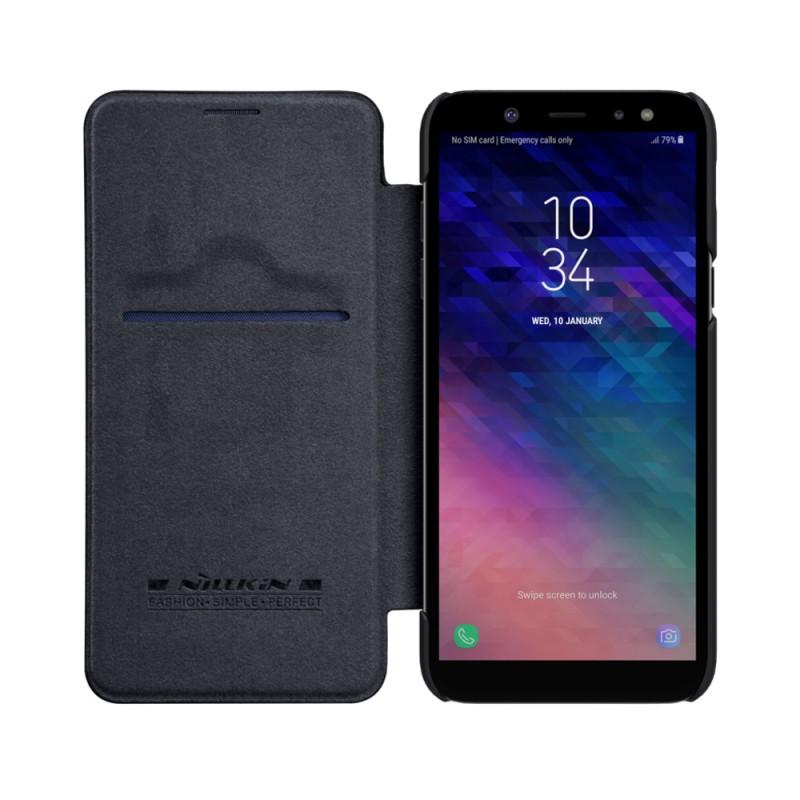 Toc Nillkin Qin Samsung A6/2018 Negru