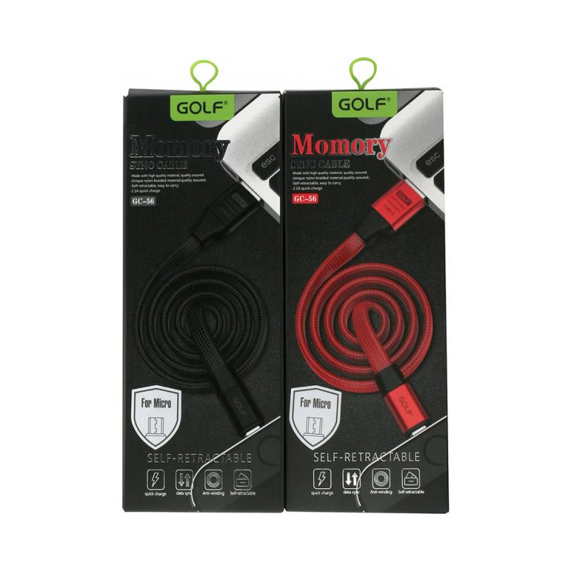 Cablu Golf Memory Iphone 56I Negru