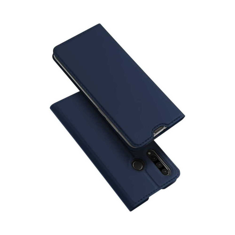 Toc DuxDucis Skin Huawei P30 Lite Albastru