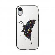 Husa Design Fancy Apple Iphone XR Alb