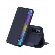 Toc DuxDucis X-Skin Samsung S21 Ultra Albastru