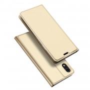 Toc DuxDucis Skin Apple Iphone XR Auriu