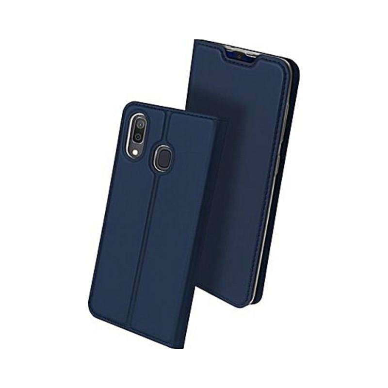 Toc DuxDucis Skin Samsung M20 Albastru