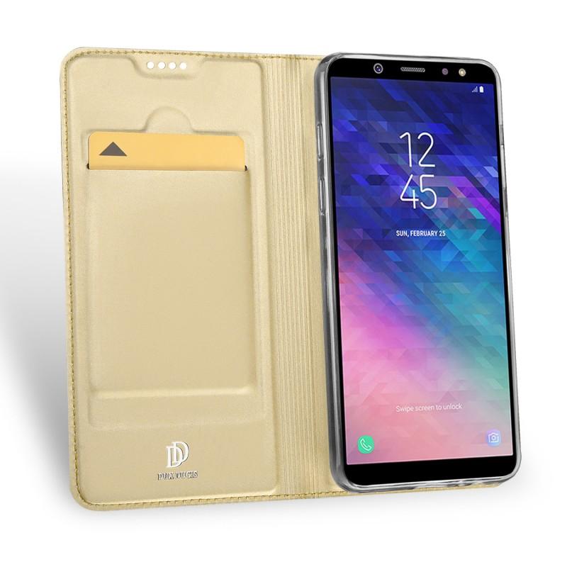 Toc DuxDucis Skin Samsung A6/2018 Auriu