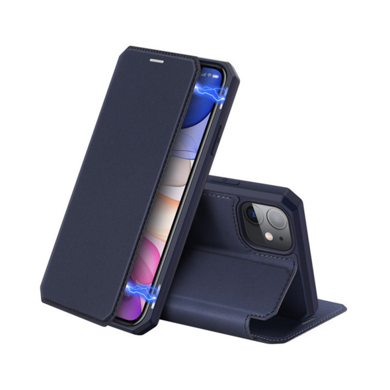 Toc DuxDucis X-Skin Apple Iphone 11 Albastru