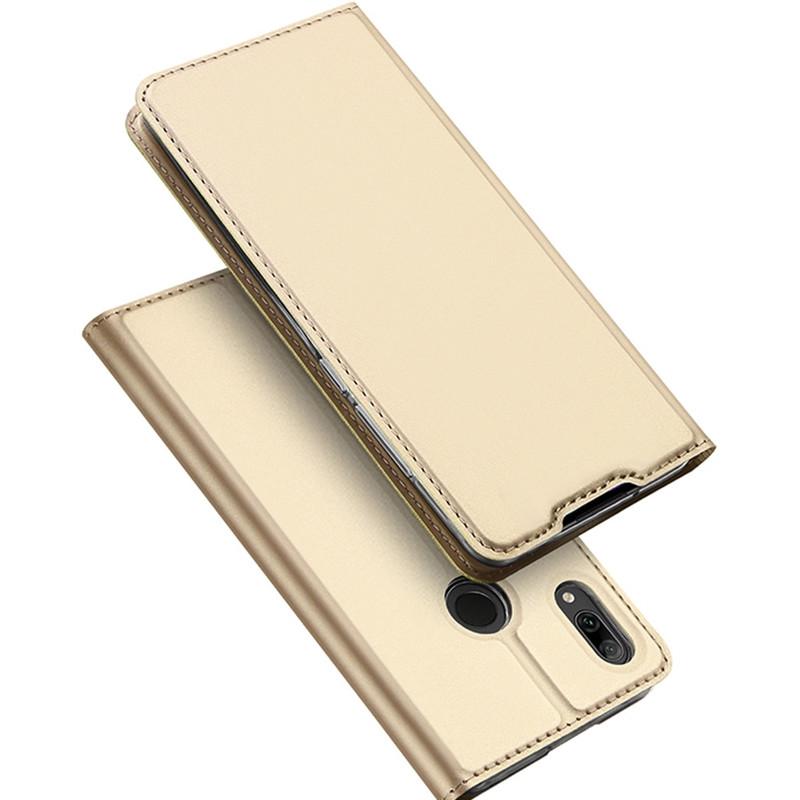 Toc DuxDucis Skin Huawei Y7/2019 Auriu