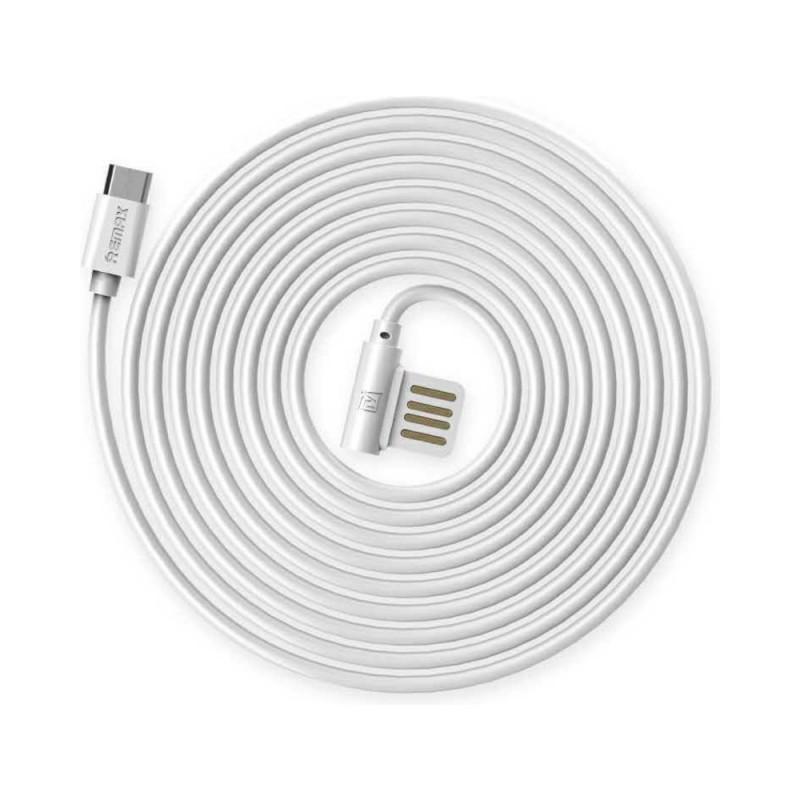 Cablu Remax Rayen MicroUSB RC-075 Alb