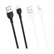 Cablu XO NB200 Iphone-USB Negru (2A)